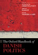Cover for The Oxford Handbook of Danish Politics