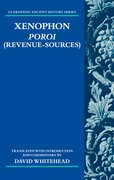 Cover for Xenophon: <i>Poroi</i> (Revenue-Sources)