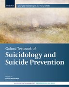 Cover for Oxford Textbook of Suicidology and Suicide Prevention