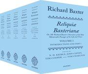 Cover for Richard Baxter: <i>Reliquiæ Baxterianæ</i>