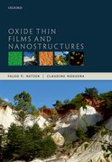 Cover for Oxide Thin Films and Nanostructures