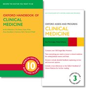 Cover for Oxford Handbook of Clinical Medicine 10e and Oxford Assess and Progress: Clinical Medicine 3e