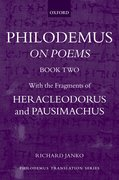 Cover for Philodemus: <em>On Poems</em>, Book 2
