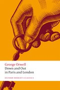 Cover for Down and Out in Paris and London