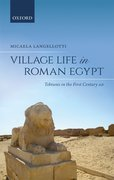 Cover for Village Life in Roman Egypt