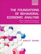 Cover for The Foundations of Behavioral Economic Analysis