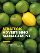 Cover for Strategic Advertising Management