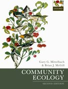 Cover for Community Ecology