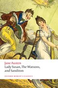 Cover for Lady Susan, The Watsons, and Sanditon
