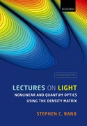 Cover for Lectures on Light - 9780198835905