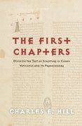 Cover for The First Chapters