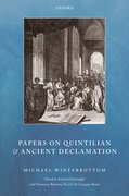 Cover for Papers on Quintilian and Ancient Declamation