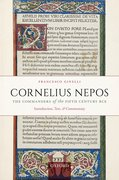 Cover for Cornelius Nepos, The Commanders of the Fifth Century BCE