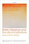 Cover for British Literature and the Life of Institutions