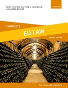 Cover for Complete EU Law