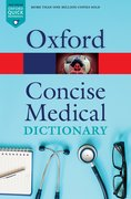 Cover for Concise Medical Dictionary - 9780198836612