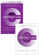 Cover for Contract Law Revision Concentrate Pack