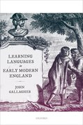 Cover for Learning Languages in Early Modern England
