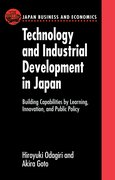 Cover for Technology and Industrial Development in Japan