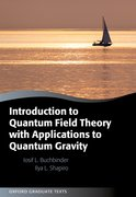 Cover for Introduction to Quantum Field Theory with Applications to Quantum Gravity - 9780198838319