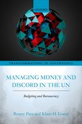 Cover for Managing Money and Discord in the UN