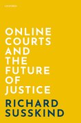 Cover for Online Courts and the Future of Justice