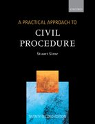 Cover for A Practical Approach to Civil Procedure
