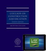 Cover for Coulson on Construction Adjudication (book and digital pack)