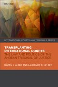 Cover for Transplanting International Courts