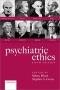 Cover for Psychiatric Ethics - 9780198839262