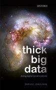 Cover for Thick Big Data