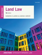 Cover for Land Law Directions