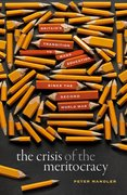 Cover for The Crisis of the Meritocracy - 9780198840145