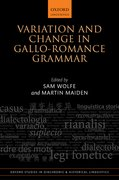 Cover for Variation and Change in Gallo-Romance Grammar