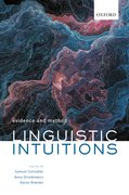 Cover for Linguistic Intuitions
