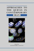 Cover for Approaches to the Qur