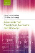 Cover for Continuity and Variation in Germanic and Romance