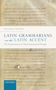 Cover for Latin Grammarians on the Latin Accent