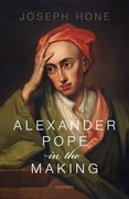 Cover for Alexander Pope in the Making