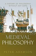 Cover for Medieval Philosophy