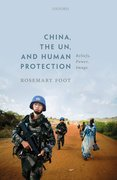 Cover for China, the UN, and Human Protection