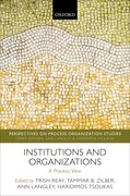 Cover for Institutions and Organizations