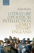 Cover for Literature and Political Intellection in Early Stuart England - 9780198844068