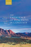 Cover for The Emergence of Functions in Language