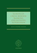 Cover for European Cross-Border Banking and Banking Supervision