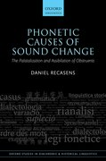 Cover for Phonetic Causes of Sound Change