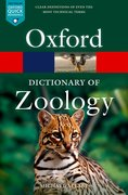 Cover for Oxford Dictionary of Zoology