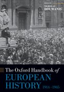 Cover for The Oxford Handbook of European History, 1914-1945