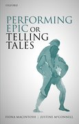 Cover for Performing Epic or Telling Tales
