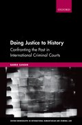 Cover for Doing Justice to History